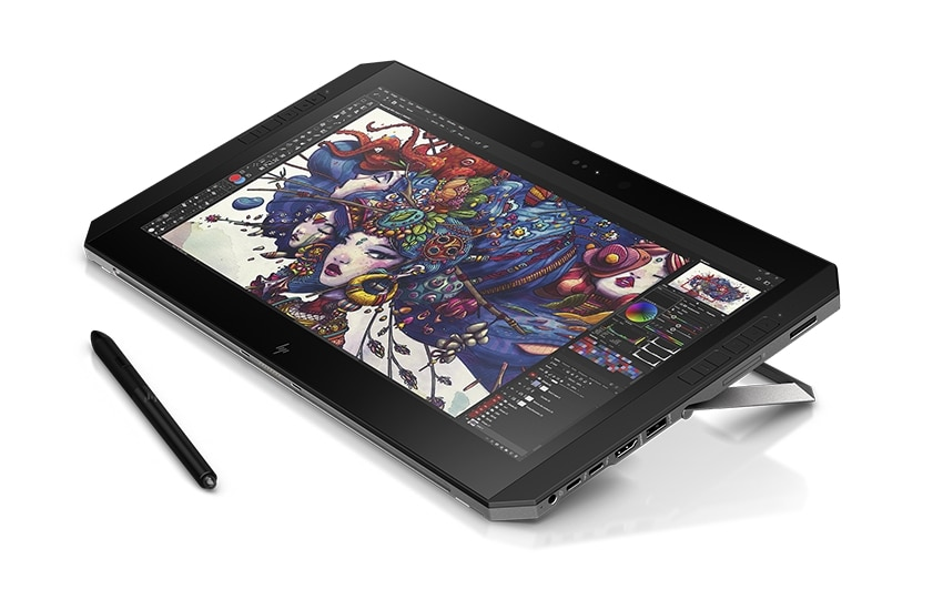 Mode Tablet HP ZBook x2
