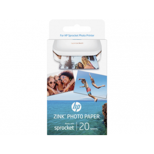 HP ZINK™ Sticky-backed Photo Paper-20 sht/2 x 3 in