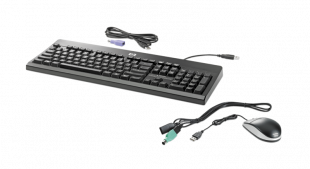 HP USB PS2 Washable Keyboard and Mouse