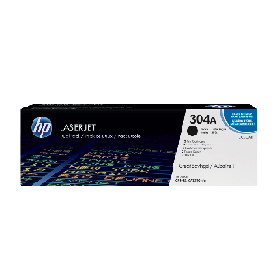 HP 304A 2-pack Black Original LaserJet Toner Cartridges