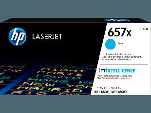 HP 657X High Yield Cyan Original LaserJet Toner Cartridge
