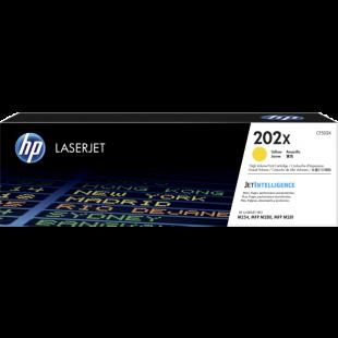 HP 202X High Yield Yellow Original LaserJet Toner Cartridge