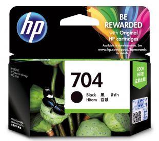 HP 704 Black Original Ink Advantage Cartridge