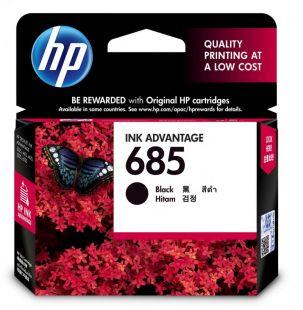HP 685 Black Original Ink Advantage Cartridge