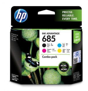 HP 685 4-pack Black/Cyan/Magenta/Yellow Original Ink Advantage Cartridges