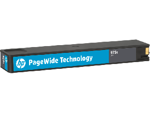 HP 975X High Yield Cyan Original PageWide Cartridge