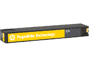 HP 975X High Yield Yellow Original PageWide Cartridge