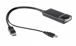 HP DisplayPort to Dual Link DVI Adapter