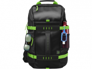 HP 15.6 in Odyssey Green/Black Backpack