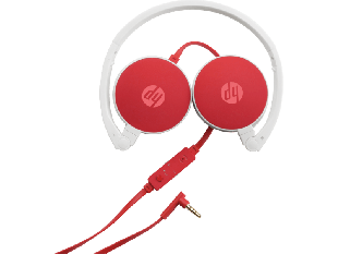 HP 2800 Red Stereo Headset