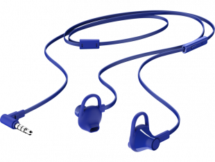 HP Earbuds Blue Headset 150
