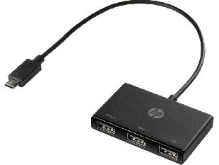 HP USB-C to USB-A Hub
