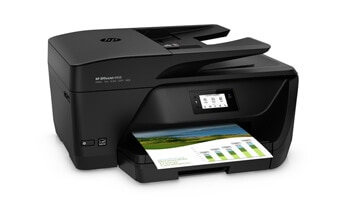 HP OfficeJet Pro 6950 - HP OfficeJet Pro Printer 6000 series