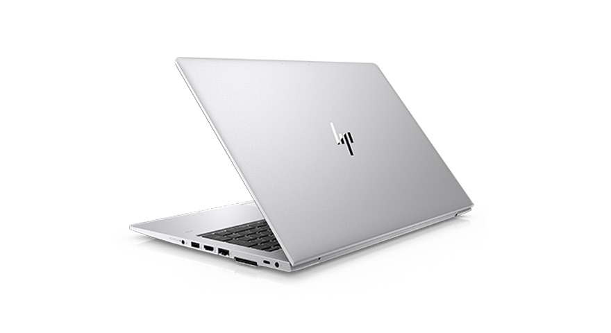 HP EliteBook 850 business laptop back angle view