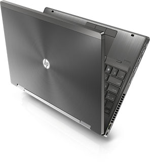 HP 8570w Mobile workstation design