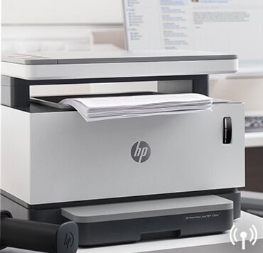 HP Neverstop Laser 1200w MFP wireless printer