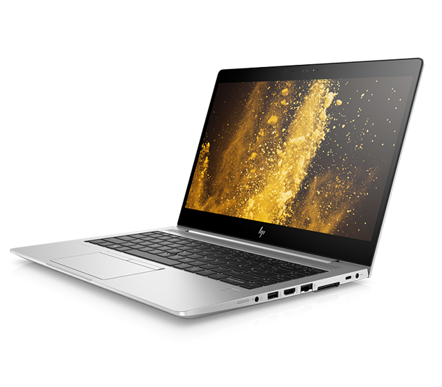 open HP Elitebook 800 G5 - left facing