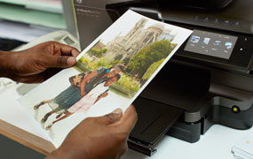 Connecting your wireless printer