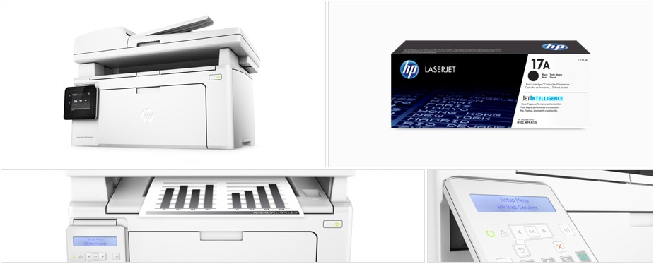 HP LaserJet Pro. Simple productivity. Simply done.