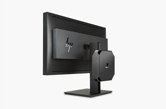 HP Z 2 Mini workstation on 4K Display