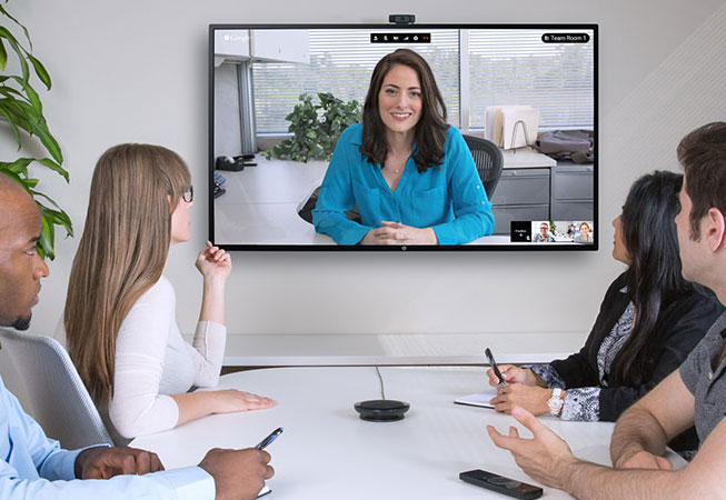 Video conferencing on HP thin client communications