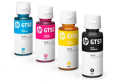 Original HP ink for HP DeskJet GT series printers