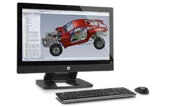 HP Z1 All-in-One performance