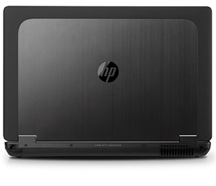 HP ZBook 17 Mobile Workstation angled view