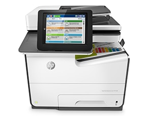 Stampante multifunzione HP PageWide Enterprise Color 586dn