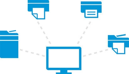 Gestione end-to-end - HP Web Jetadmin
