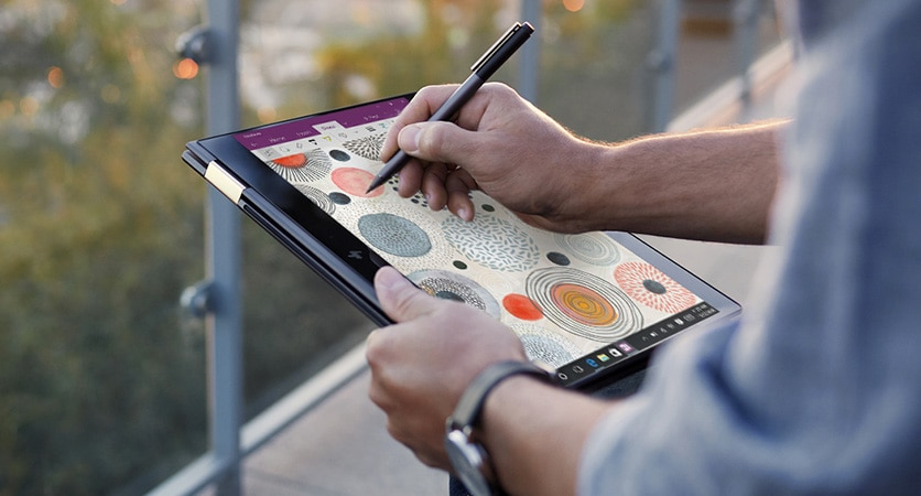 Windows Ink on laptop