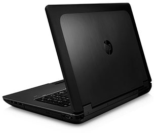 HP ZBook 17 Mobile Workstation rear view