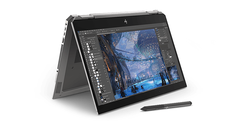 HP ZBook Studio x360 회전