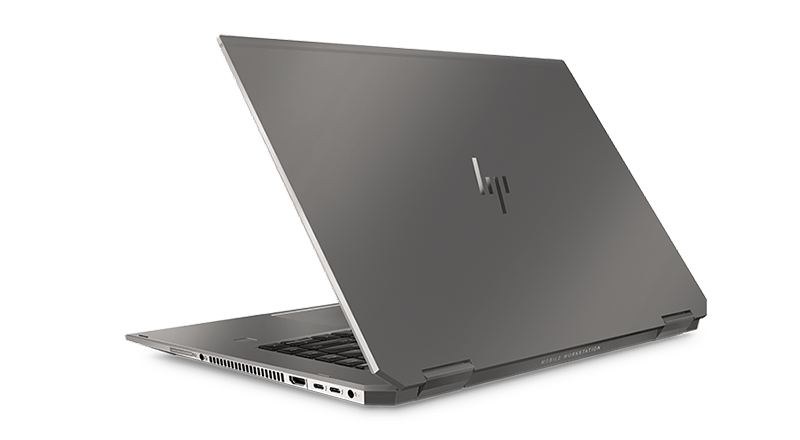 HP ZBook Studio x360 후면 왼쪽