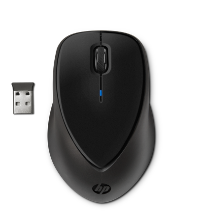Mouse inalambrico Comfort Grip HP