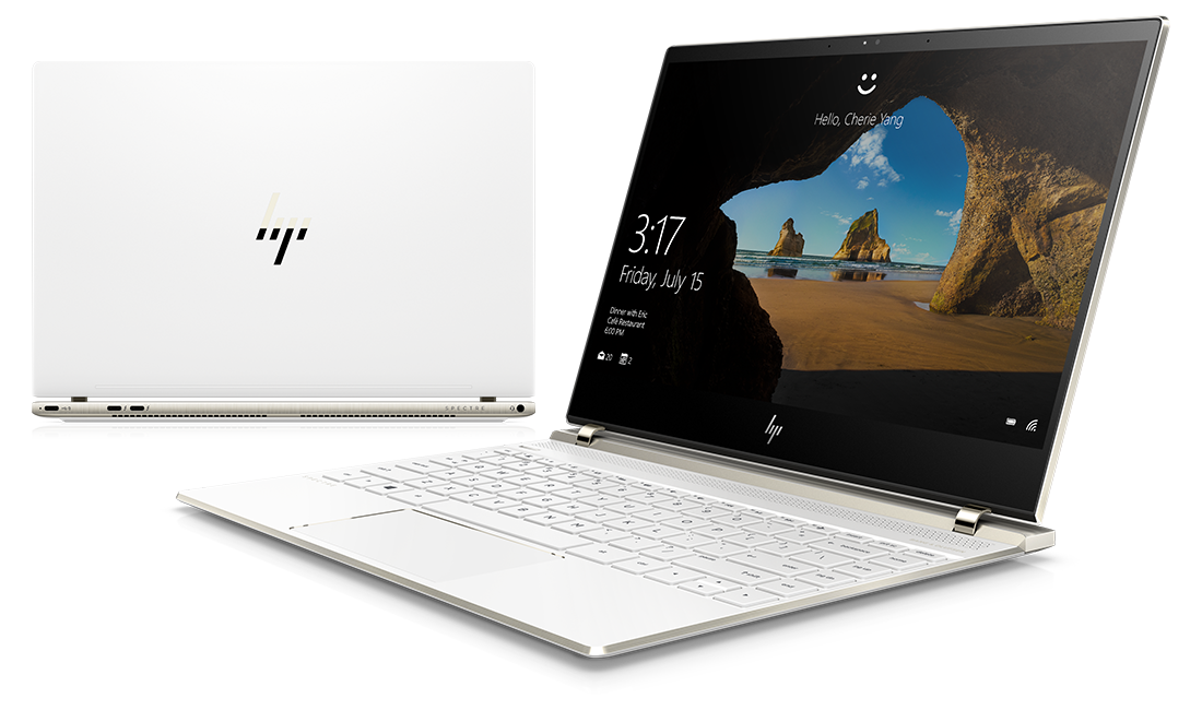 Rendimiento potente de la laptop HP Spectre