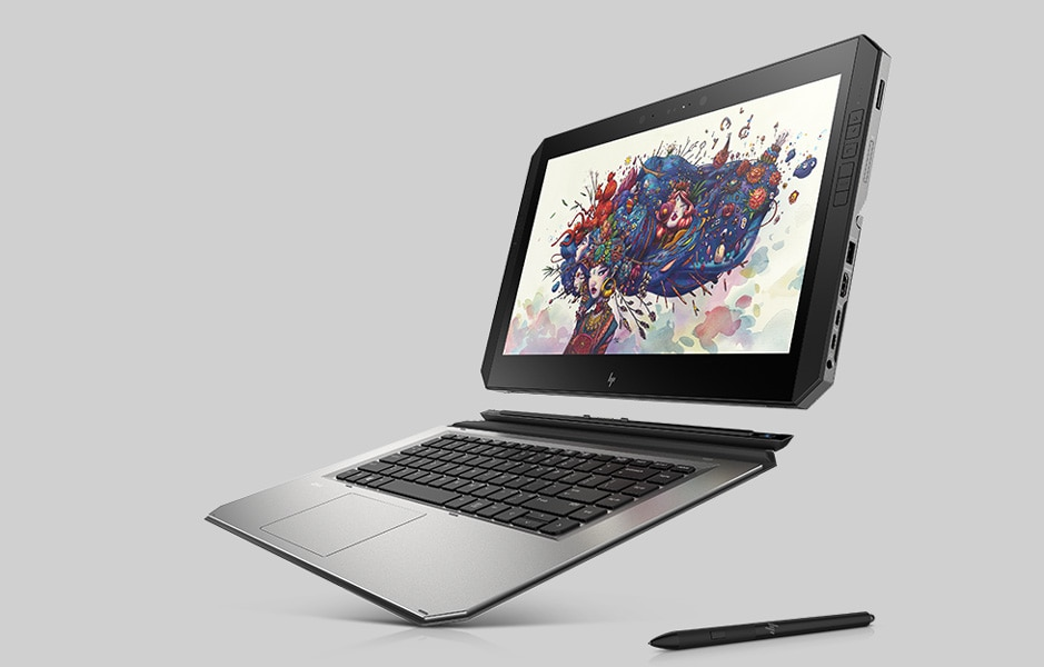ZBook x2 detached with pen