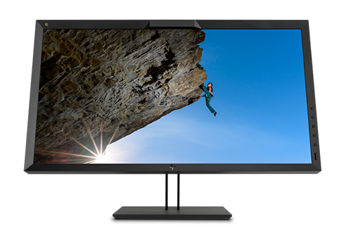 half of HP DreamColor Z31x Studio Display