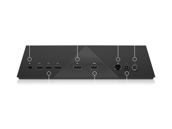 Top ports for HP VR backpack