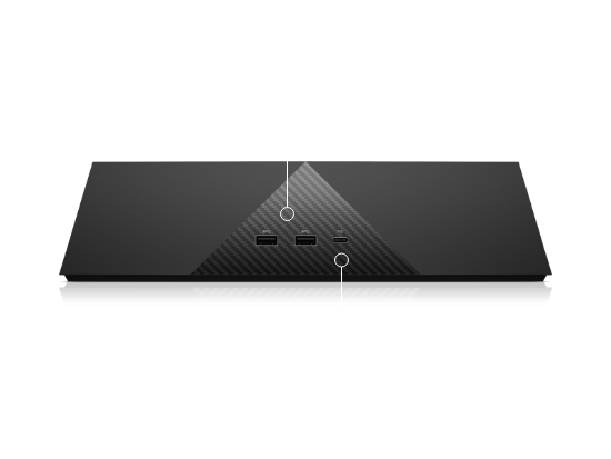 Front Dock ports for HP VR backpack