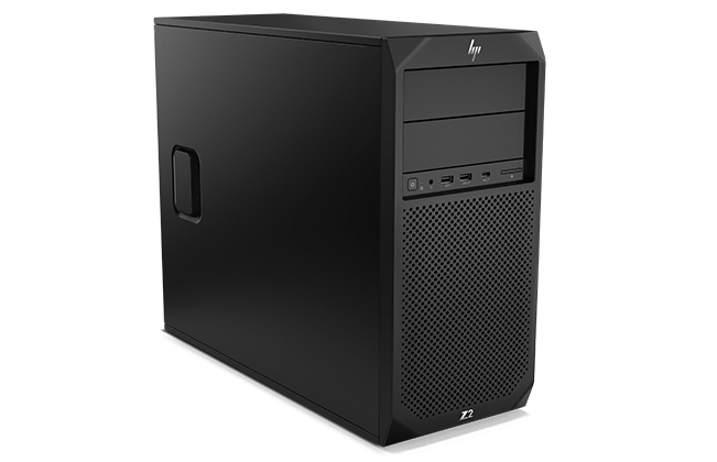 HP Z2 SFF Tower workstation right facing