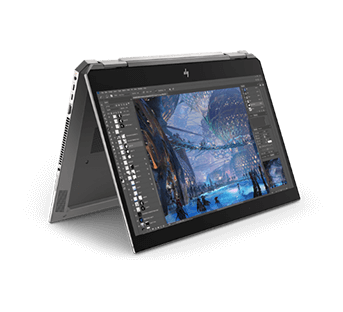 HP ZBook studio x360 right view