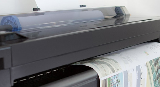 HP DesignJet office printers and plotters