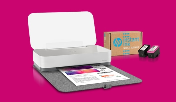 Instant Ink - Ink never run dry with HP Tango