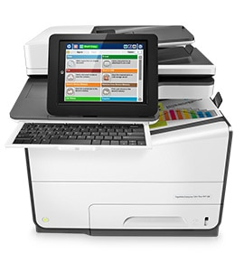 HP PageWide Enterprise Flow MFP's