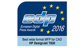 HP awarded EDP Best Wide-Format MFP for CAD for 2016