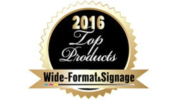 HP receives a 2016 Wide-Format & Signage Top Products award