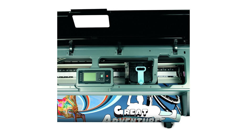 Front view of HP DesignJet Z2100 Photo Printer
