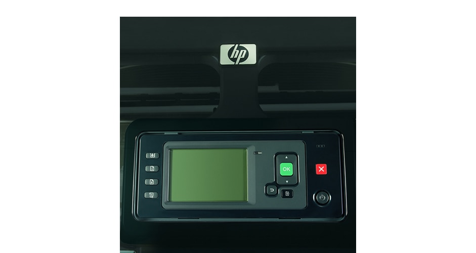 Close-up view of the HP DesignJet Z2100 Photo Printer ink cartridges