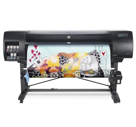 HP DesignJet Z5600 PostScript® Printer with photo